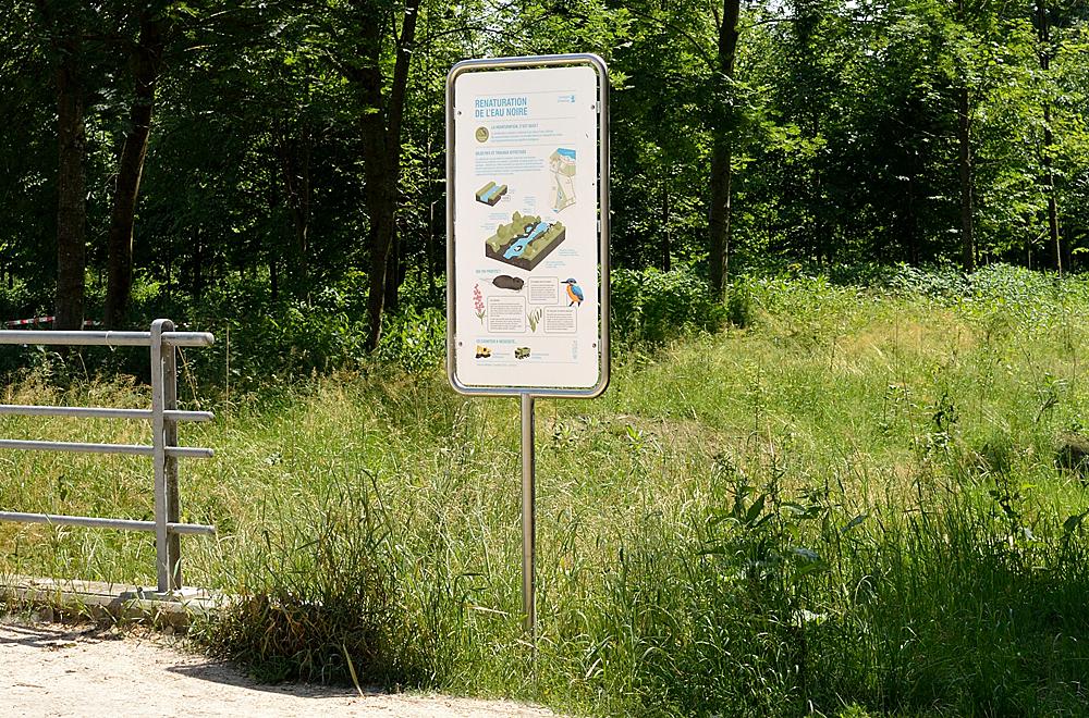 Panneaux renaturation