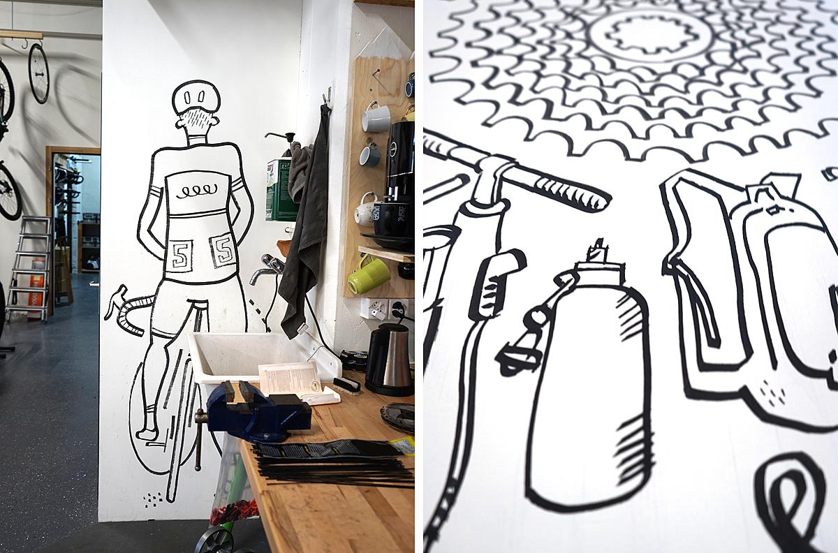 VO-magasin de vélos,