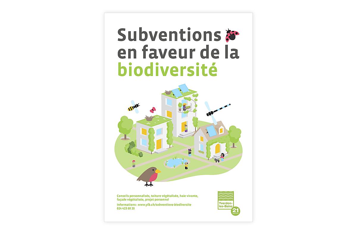 Subventions en faveur de la biodiversité